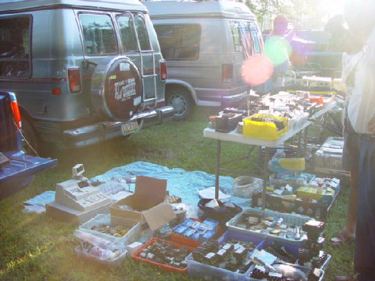 The date for the twenty first Tampa Amateur Radio Club Tailgate is Saturday, ...